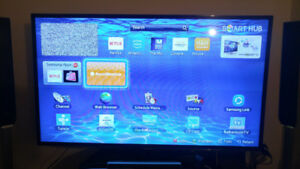 "Samsung smart led tv 55"", super slim, 120Hz"