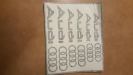 ***VARIOUS AUDI S LINE STICKERS DECALS*** for sale  Yardley, West Midlands