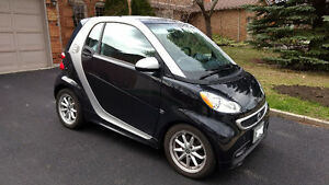 2014 Smart ForTwo Electric Drive Passion Coupe (2 door) Black