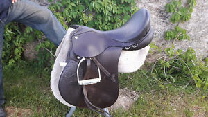 English Saddle and Pad