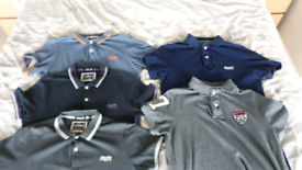 Used, 5 x men's Superdry polo shirts (L) for sale  Canterbury, Kent