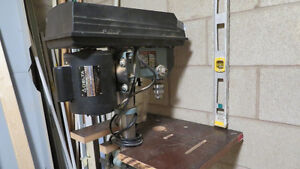** Table Saw, Drill Press, Scroll Saw , Router  **