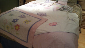 Literie lit simple fille / comforter set twin bed girl