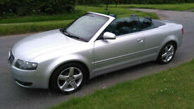 2004 AUDI A4 CABRIOLET 1.8T ** SOLD **