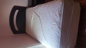 3 piece black single/twin bedroom set from Leon's!