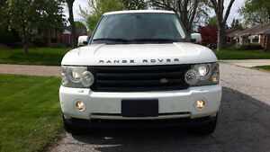 2006 RANGE ROVER HSE NAVIGATION LEATHER SUNROOF