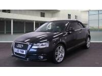 2010 Audi A3 2010 1.6 TDI S Line 2dr CONVERTIBLE DIESEL FULL SERVICE HISTORY £30
