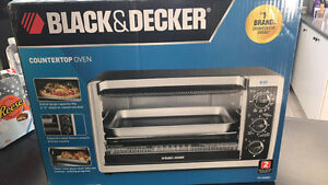 Black and Decker counter top oven
