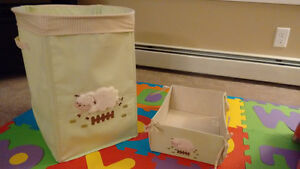 Baby toy store and diaper box store