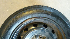 Michelin Pilot Alpin - Performance Winter Tires and Rims Stratford Kitchener Area image 4
