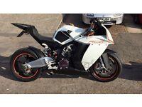 Ktm rc8 1190 super bike 2008 stunning!!! PX R1 Big BANG / gsxr1000/RC8R