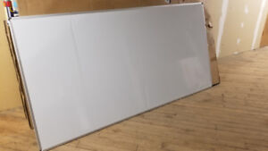 """WHITE BOARD """"Huge"""" 4 feet x 8 feet, with mounting assembly"""