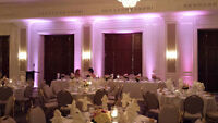 Wedding DJ and Uplights Brooks DJ Entertainment Halifax