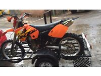 Ktm exc250 quick sale need gone new bike forces sale.