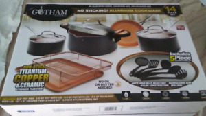 15 Piece Gotham Cookware Set