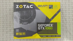 ZOTAC GTX 1060 AMP Edition 6GB GDDR5 GPU Graphics Cards
