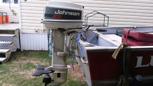 1994 25 hp Johnson outboard for sale