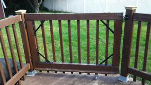 Portes en bois pour l'extérieur