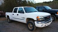 2003 GMC 2500HD DIESEL 4X4 FULLY LOADED