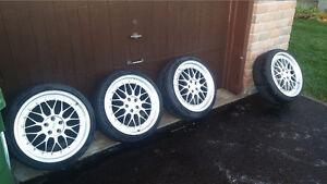 Set of 4 BBS LM Replica Wheels