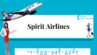 Spirit Airlines Contact Number +1-855-448-5780