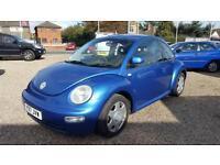 2001 Volkswagen Beetle 12 MOT 1 Owners Excellent Condition Bargain