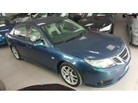 2008 SAAB 9-3 DTH VECTOR SPORT Blue Manual Diesel