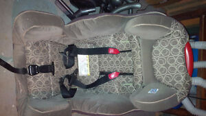 Car seat, bed rail and ipod case