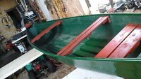 15.5 ft. square stern canoe.