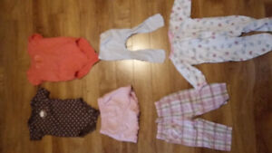 6-12 month girls clothes spring/summer