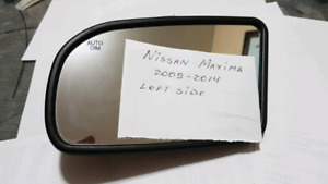 Side Mirror Glass for 2009-2014 Nissan Maxima Right or left side