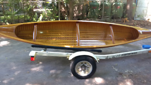 Cedar Strip Canoe