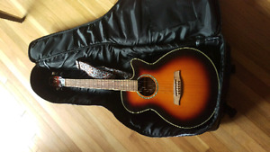 Ibanez Electric Acoustic guitar and accessories