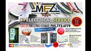 For all your electrical needs!  Master License Electrician Peterborough Peterborough Area image 1