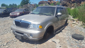 2001 NAVIGATOR... JUST IN FOR PARTS AT PIC N SAVE! WELLAND