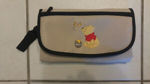 Portable diaper change kit- Winnie the Pooh