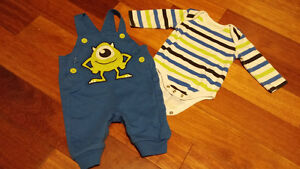 Disney Baby 0-3 month outfit