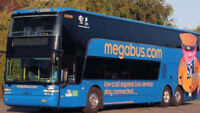 Toronto to Montreal megabus ticket