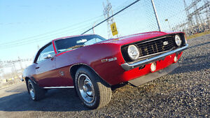 1969 CHEVY CAMARO CLASSIC MUSCLE CAR - BEAUTIFUL!