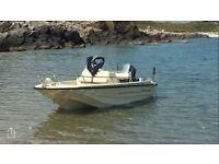 Dory, Wilson Flyer, tri hull, fishing boat