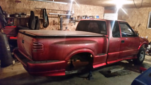 Stripped/scrap 96 chevy S10