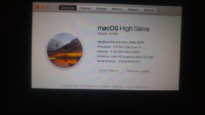 Macbook pro 13.3 NEGOTIABLE!!