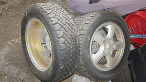 215/60R/16 pneus et jantes