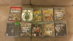 PS3  Games - must take all!