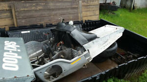 ***TUNNEL & PAPERS FOR 2002 & 2004 LEGEND SKI-DOO ZX-CHASSIS***