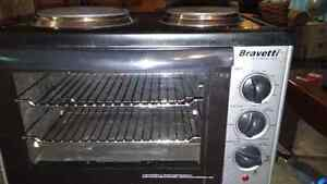 FOR SALE LIKE NEW BRAVETTI CONVECTION OVEN/2 BURNERS AS WELL