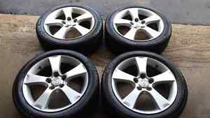 Mazda Steel Rims with Kumho Tires