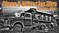 CLASS 3 Driver for HIRE