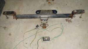 VW Passat Trailer hitch with wiring harness