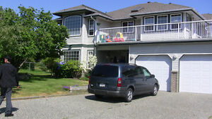 Gorgeous grnd level 1 bdrm suite with large yard in ALDERGROVE